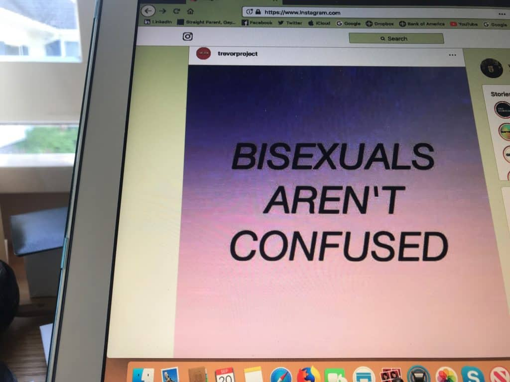 Bisexuals aren't confused