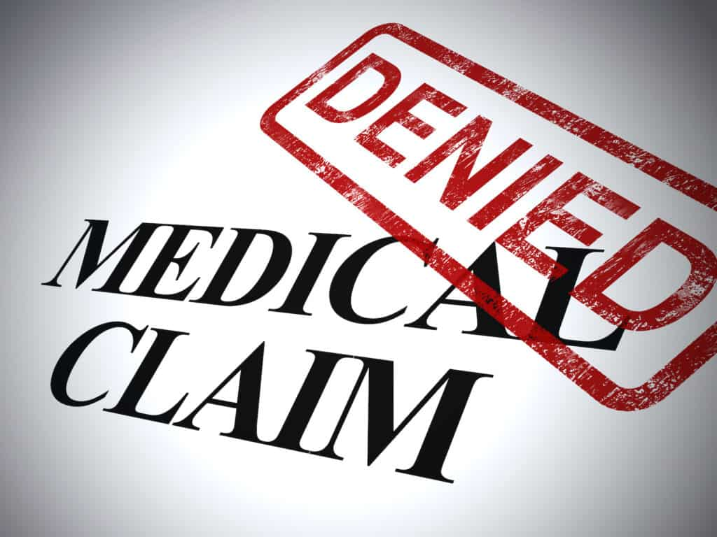 Medical claim denied