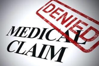 Medical claim denied