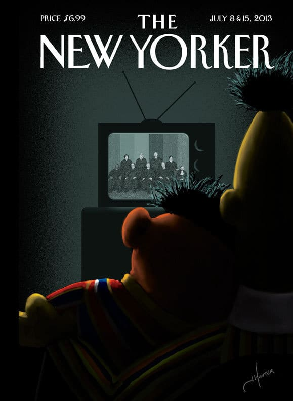 New Yorker July 2013 Cover