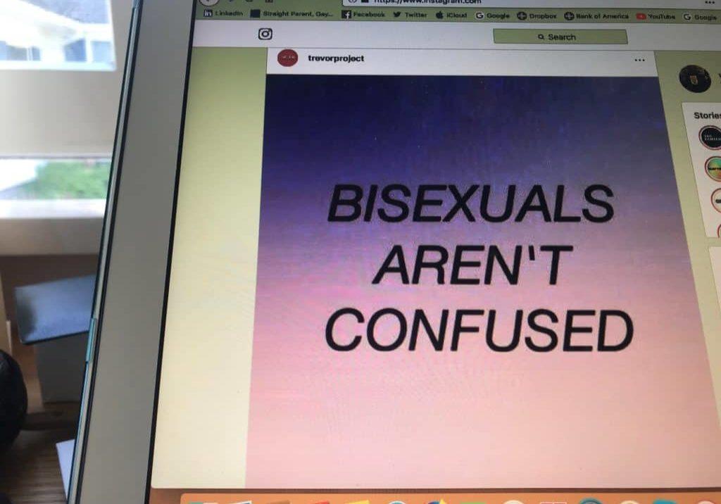 Bisexuals aren't confused