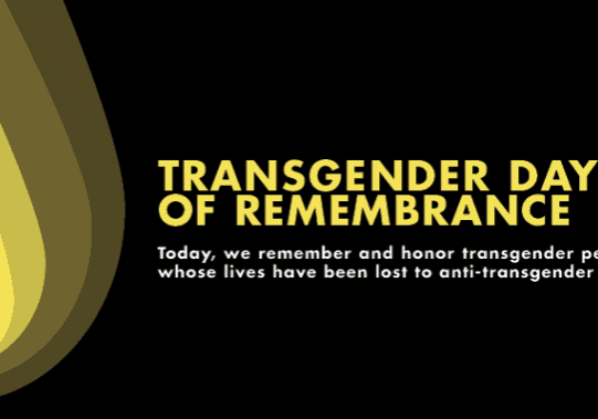 Transgender Awareness Day of Remembrance